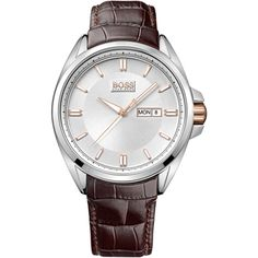 e034927343 BOSS Classic Stainless Steel Black Leather Strap Η τιμή μας  249€ http