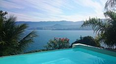 For Rent - A unique Ilhabela stay for you. All Amenities Inclusive. You Will LoveThe Huge living room is connected to the dining area and  planned kitchen.- 4 bedrooms ( 3 suites )- Large deck overlooking the sea- pool- Electronically monitored alarm securityPrice : US$ 2.000 /day