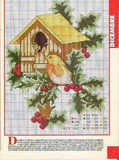 December birdhouse