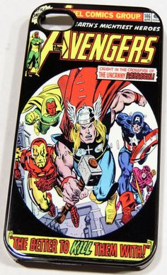 Avengers Thor & Captain America Vintage Comic by HanddMadeForU, $15.00
