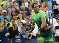 Rafa Nadal US Open - day session apparel