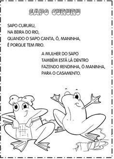 Aprender Brincando Folclore Cantigas De Roda Letras De Musicas