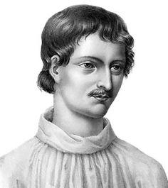 """Como afirmara el maestro de maestros, Giordano Bruno: """"todo es uno, y conocer esta unidad es el objeto y término de toda filosofía y contemplación natural."""" Filósofo hermético que promulgaba un gnosticismo puro. Quien diera su vida por defender la libertad de pensamiento. Quien prefirió morir a abjurar de sus ideas. Quien se propuso ilustrar en el Conocimiento. El cual sólo se alcanza a través del Amor, jamás por medio del miedo y la represión."""