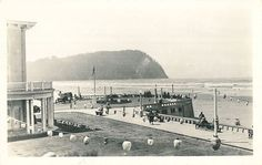 The turnaround in Seaside, Oregon circa 1931 from Oregon State Archives.