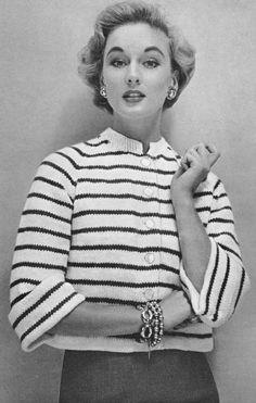 Vintage Knitting and Crochet Patterns 1950's Jeweled by Dazespast
