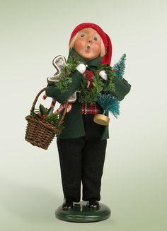 Byers Choice Decorating Boy