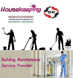 Building Maintenance Services  Experts at Shubham Enterprises provide incorporated building maintenance services to wide range of clients. Our business's core skill lies n building maintenance service to deliver essential day to day services such as security services, electromechanical services, cleaning services, facility management services, building maintenance services etc.
