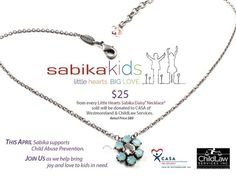 Let's party for the kids!! You choose the children's charity that you would like to donate to. I will donate 10%! Think of the possibilities..... your child's school, Riley Children's hospital, Casa for kids!  Let's book the date now! 765.479.1028 Sabika-jewelry.com/michellekreinbrook