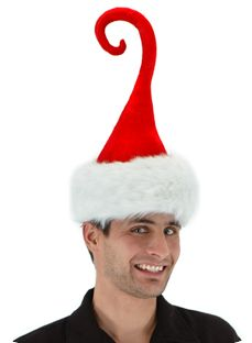Curly Q Santa- This whimsical twist on a classic favorite will stand out in a crowd.