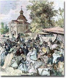 Romería de San Antonio de la Florida. 1858. Museo Municipal. Madrid.