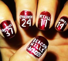 Teen wolf nails.