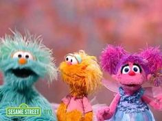 """Sesame Street: """"Because We're Friends"""" ...  Rosita, Abby Cadabby, and Zoe sing about  friendship."""