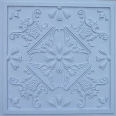 Decorative Plastic Ceiling Tiles Alluring Armstrong Tin Look Tintile Homestyle 40Pack White 1516In Inspiration Design