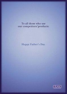 Durex pour la fête de pères