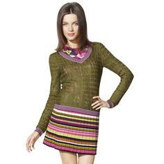 Missoni for Target...found the green/purple sweater on a clearance rack!!