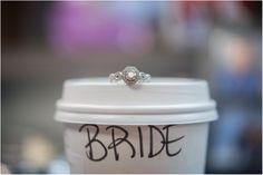 New Year Winter Wedding | Navy and Gold Wedding | Kansas Wedding | Salt & Pine Photography | Seattle and Destination Wedding Photographers | www.saltandpinephoto.com | #bride #starbucks #ring #details #wedding #inspiration