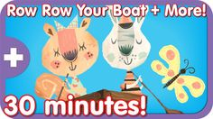 It's the classic kids song, Row Row Row Your Boat plus more of your favorites in this Super Simple Songs video collection.
