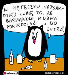 piateczek Psingwina Humor, Comics, Funny, Fictional Characters, Watch, Clock, Humour, Moon Moon, Comic Book