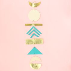 Make a Simple Leather Wall Hanging – A Beautiful Mess