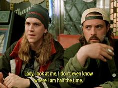 Kevin Smith's greatest characters ... Oh Jay & Silent Bob how i adore you!                                                                                                                                                                                 More