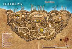 El-Shelad - City Map