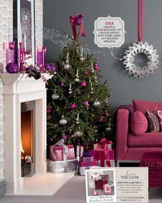 Christmas idea love the colors