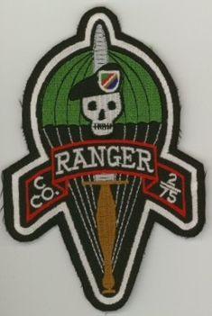 Ranger Regiment & Battalions Pocket Patches C Company, 2nd Ranger Battalion