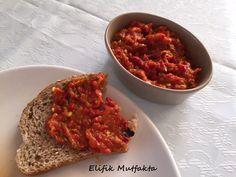Kahvaltılık Patlıcanlı Ezme | Elifik Mutfakta