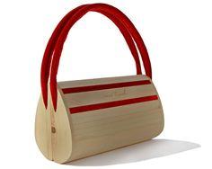 mei tasch for women  Handtasche aus Zirbenholz für door fengtirolis