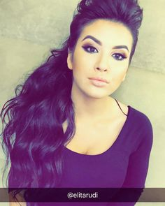"Professional Makeup Artist on Instagram: ""@elita.rudi  #hair by @kacilleshi #studiosellma#makeup"""