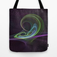 Fractal The Dancer by Gabiw Art as a high quality Tote Bag. Worldwide shipping available at Society6.com.