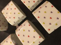 6 Pc Funny Design Made In Germany Porcelain Napkin Rings Christmas Thanksgiving   eBay