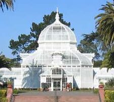 The Conservatory of Flowers, Golden Gate Park (SF) - reopened 2003 after extensive restoration