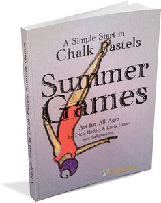 Summer Games art tutorials to all ages with celebratory art that includes diving, archery, gymnastics, sailing and the games coliseum.