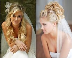 Hairstyles For Your Big Day Wedding Long Hair With Veil Design 499x398 Pixel