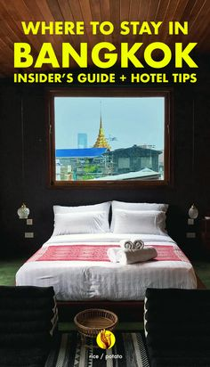 A complete area guide with Bangkok's best boutique hotels.