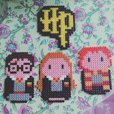 Harry Potter hama beads by  ase1980
