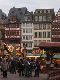 Frankfurt Christmas Market, Germany These markets are set up every Saturday in December and we were lucky enough to be here once.  Amazing!