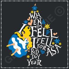 Geneologie | Greek Tee Shirts | Greek Tanks | Custom Apparel Design | Custom Greek Apparel | Sorority Tee Shirts | Sorority Tanks | Sorority Shirt Designs | Sorority Shirt Ideas | Greek Life | Hand Drawn | Sorority | Sisterhood | Bid Day | Alice | alice in Wonderland | Spade | Floral | Hearts | Fall Sorority Bid Day, Sorority Crafts, Sorority Recruitment, Sorority Life, Sorority Shirt Designs, Sorority Shirts, Tee Shirts, Alice In Wonderland Shirts, Alice In Wonderland Party