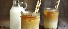 Kylmäuutettu kahvi eli cold brew -kahvi on kesän hittijuoma. Cold Brew, Glass Of Milk, Brewing, Panna Cotta, Pudding, Coffee, Drinks, Ethnic Recipes, Desserts