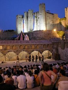 mercado medieval de Óbidos - pORTUGAL
