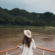 Floating down the Mekong River, surrounded by jungle in every direction ...✨🌿🍃 ⠀ ⠀ The valleys & mountains that surround Luang Prabang are… Photo Dream, Luang Prabang