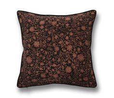 Pillow Inserts, Floral Prints, Textiles, Throw Pillows, Brown, Fabric, Color, Accessories, Tejido