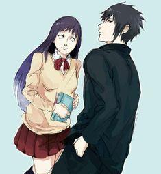 sasuke+hinata= never gonna happen - Wattpad Hinata Hyuga, Sasuke Uchiha, Narusaku, Sasunaru, Naruto Ship, Anime Naruto, Manga Love, Manga Girl, Bullet Drawing