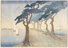 BERTHA BOYNTON LUM PINES BY THE SEA, c. 1912-1913