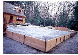 """The Ultimate DIY Ice Rink (Awesome!!)  Instructions on how to build your own ice rink- if the weather is cold enough where you live.  Follow the directions in the """"In This Article"""" box."""