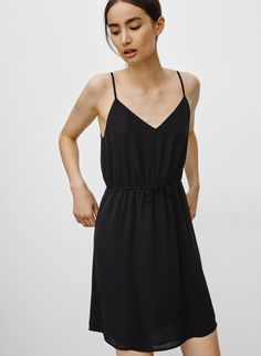 Sallie dress inspo! Feels so chic and minimalist in black.