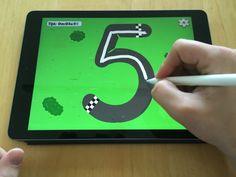 Kleuters digitaal! Oefenen met letters en cijfers schrijven! - Kleuters digitaal! Homeschool, Homeschooling