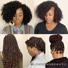 Crochet Braids and Faux Locs done by Londons Beautii in Bowie, MD.