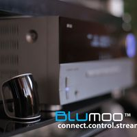 Blumoo: Turn phone into universal remote and add streaming capability to stereo.   Enhance your home theater with Blumoo; stream music to your existing system and full remote control from your mobile devices.